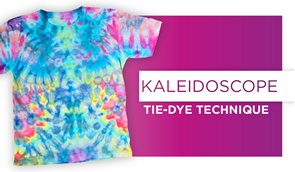 Kaleidoscope Ice Tie-Dye Technique