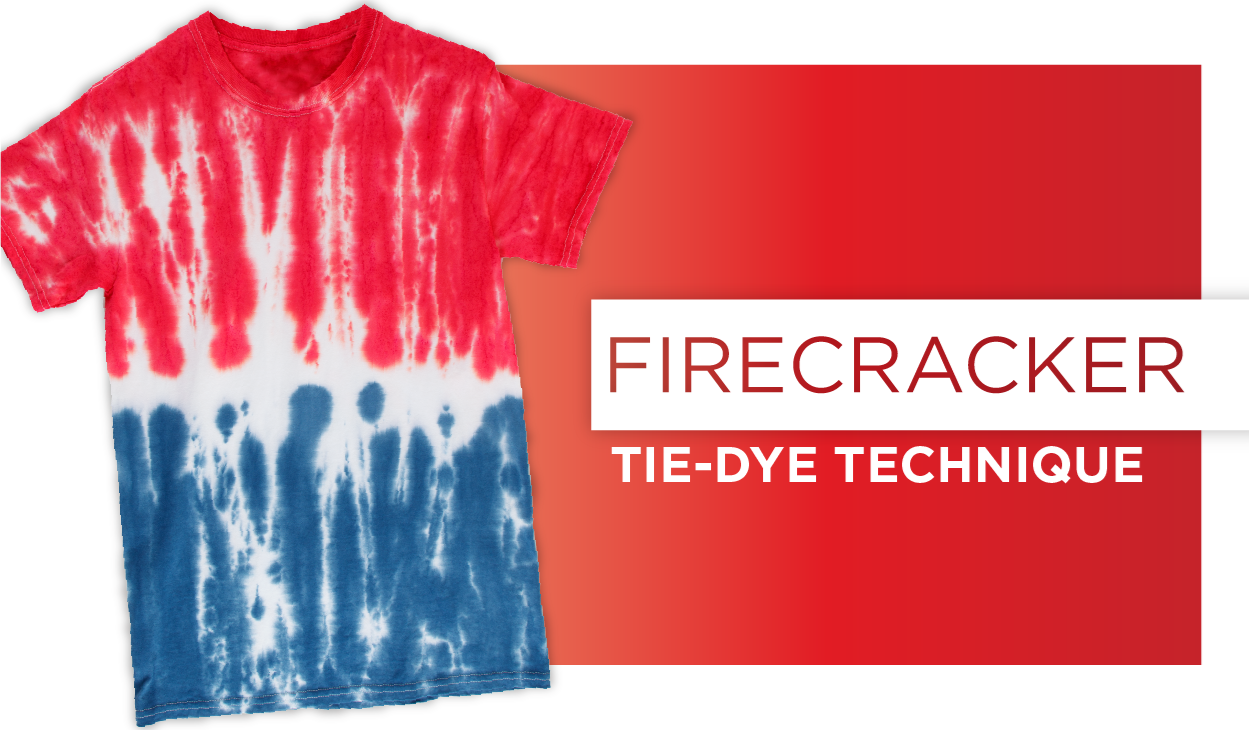 How to Firecracker Tie Dye