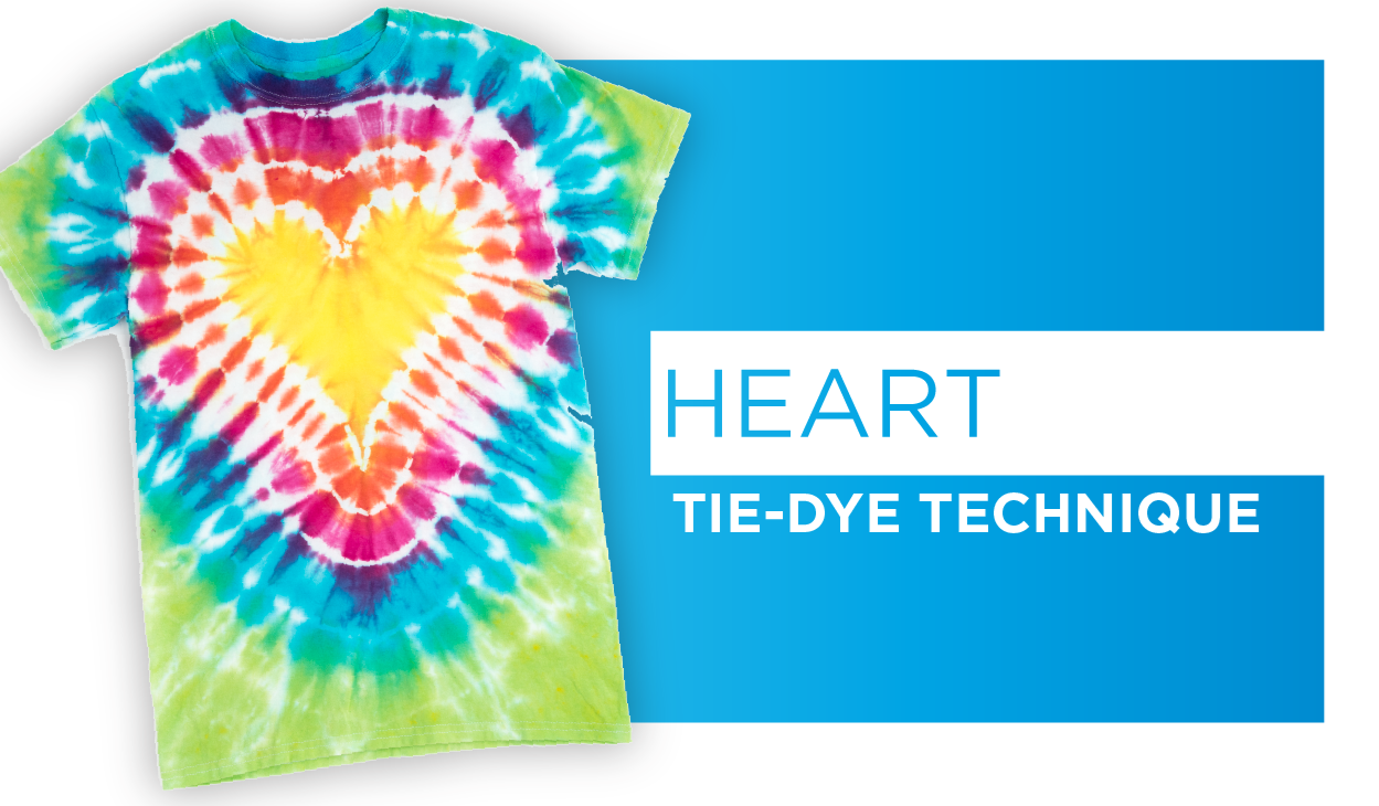 Tie Dye Your Summer Heart Technique