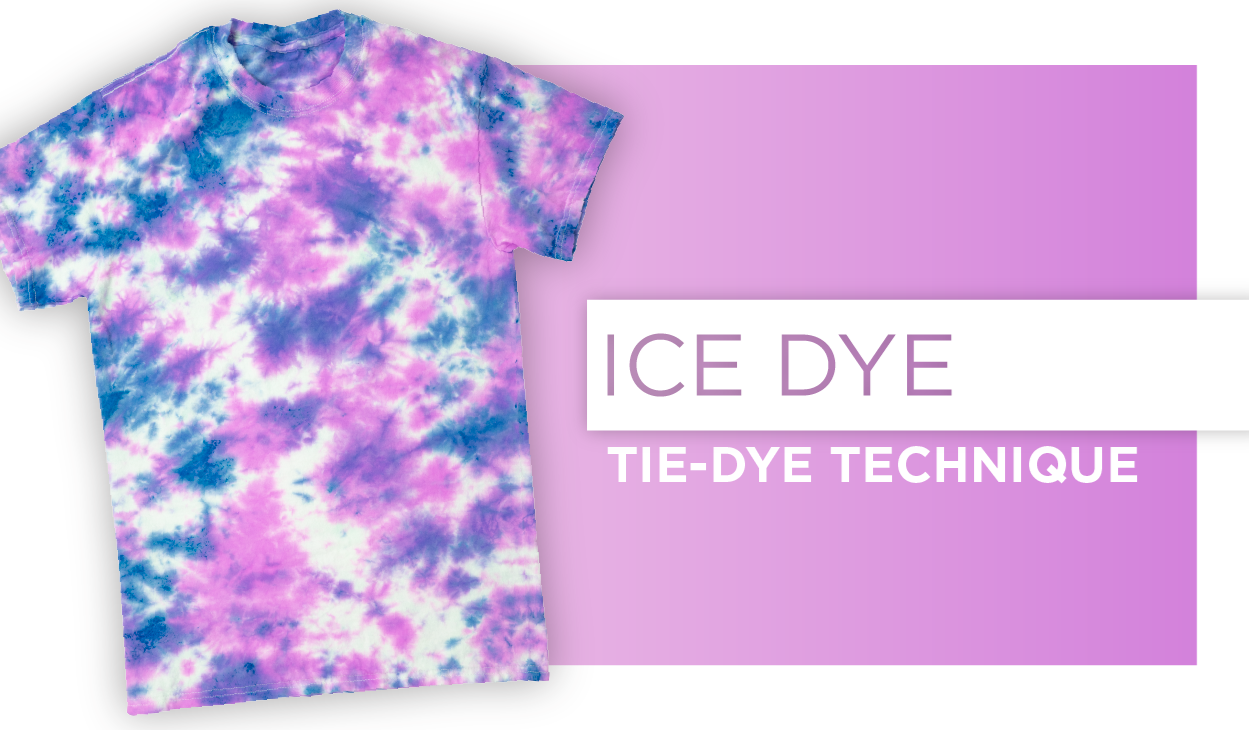 How to Ice Dye Technique