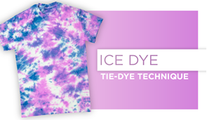 Ice Dye Technique