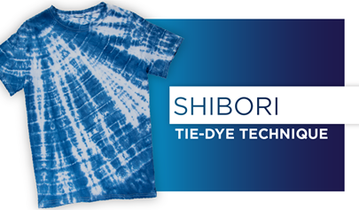 How to Shibori Twist Tie Dye