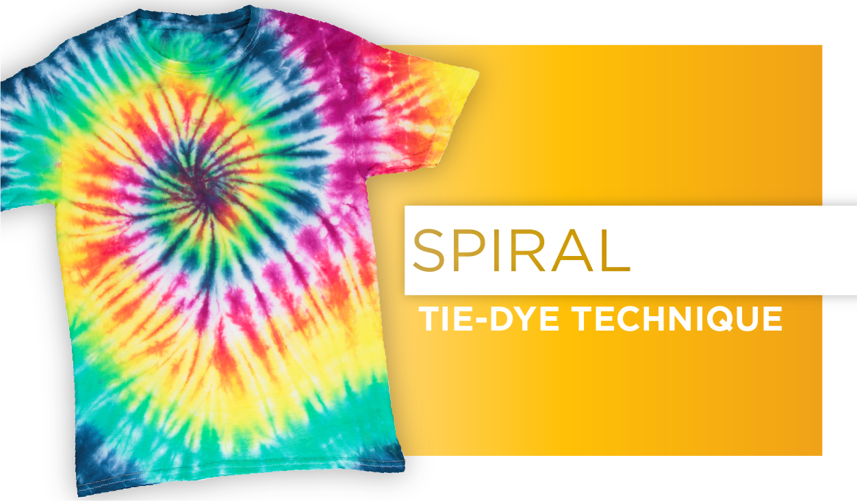 Spiral Tie-Dye Technique
