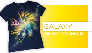 Galaxy Tie-Dye Technique