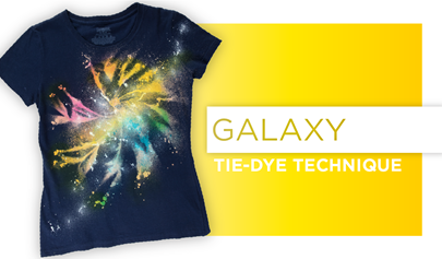 Galaxy Tie-Dye How-To