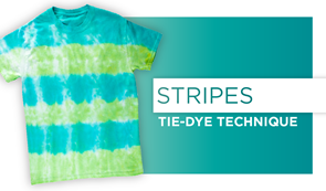 Stripes Tie-Dye Technique