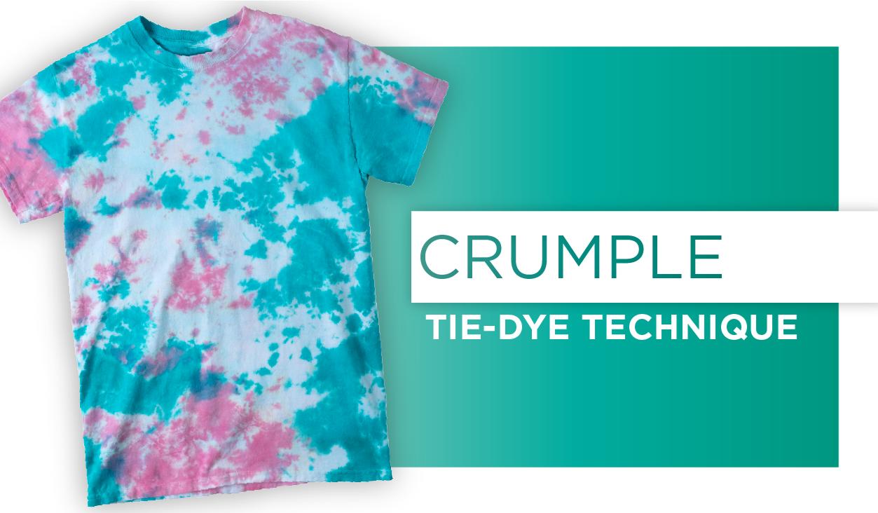 Crumple Tie-Dye Jeans Technique