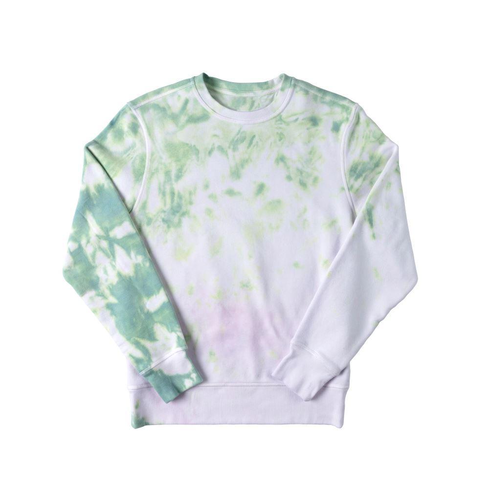Pastel Crumple Tie-Dye Sweatshirt