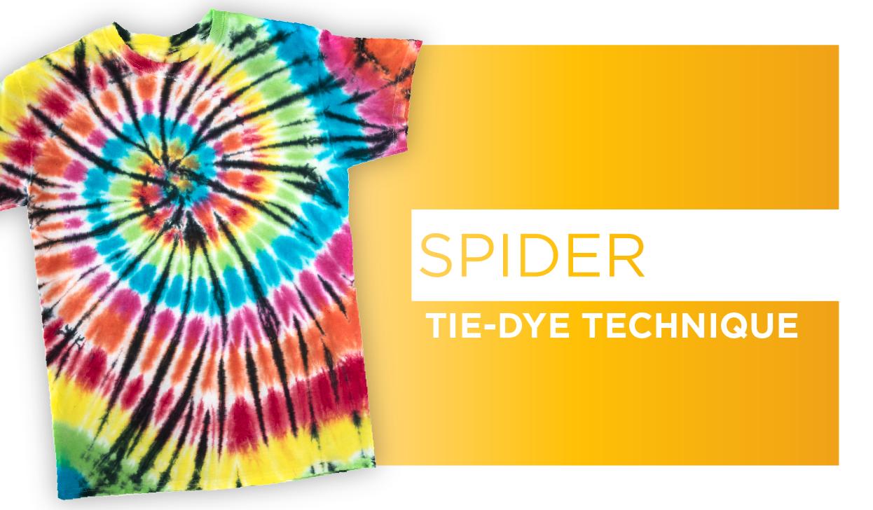 Picture of Spider Tie-Dye Technique