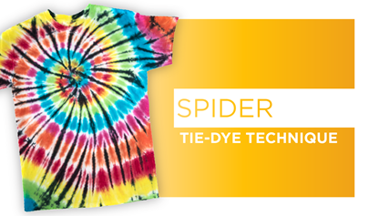 Spider Tie-Dye Technique