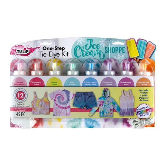 Picture of One-Step Tie-Dye Kit Ice Cream Shoppe