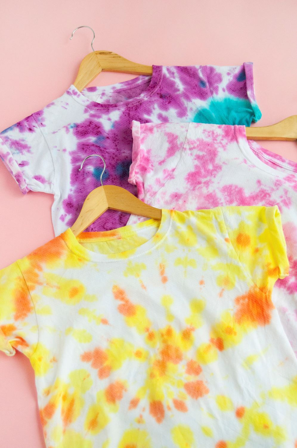 Candy-Inspired Two-Minute Tie Dye Shirts