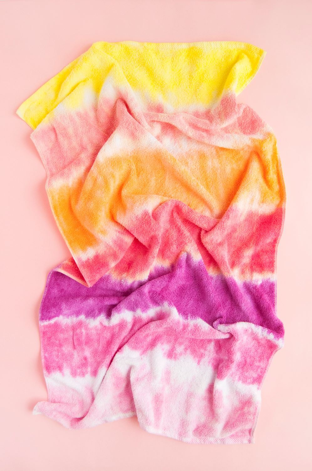 How To Tie Dye Towels