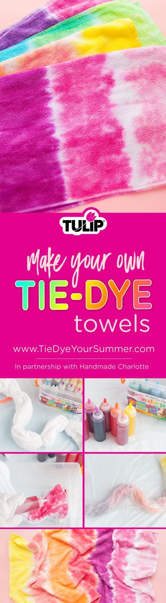 Tulip How To Tie Dye Towels