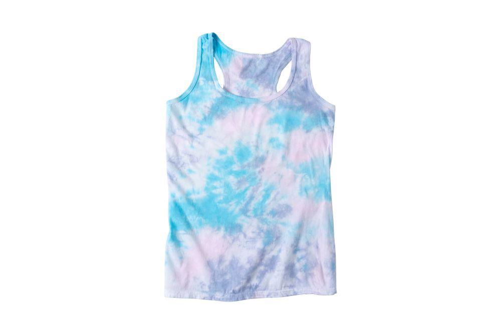 Ice Dye Pastel Tie-Dye Tank Top