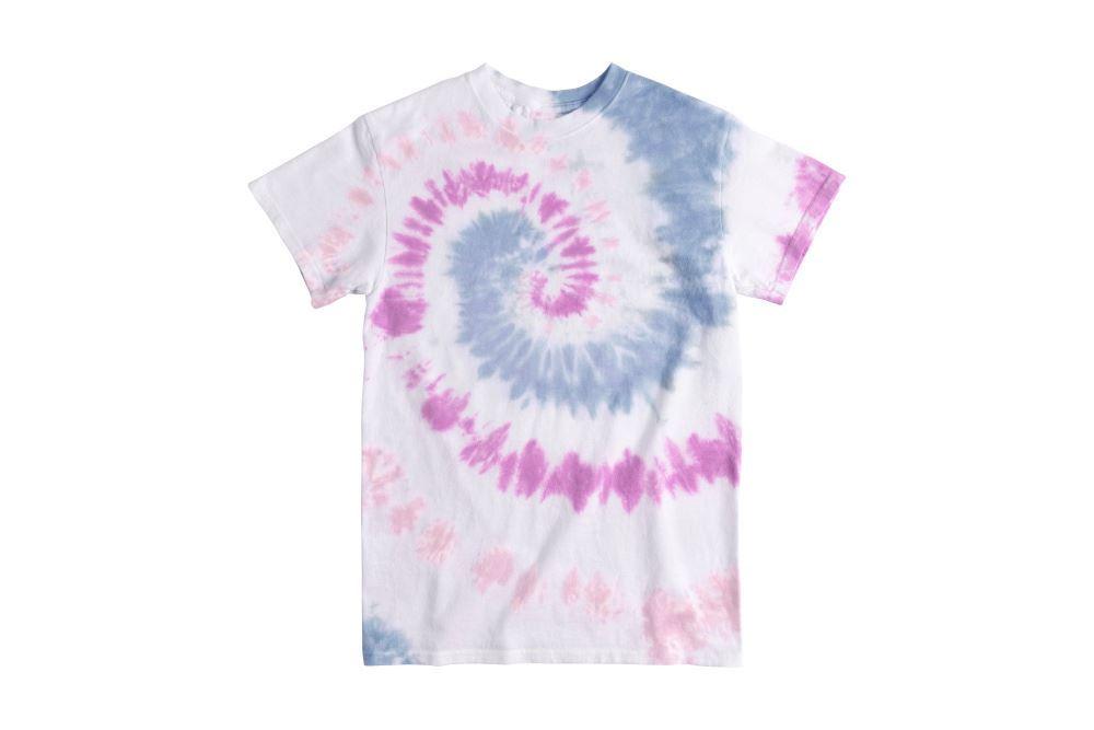 Spiral Pastel Tie-Dye T-shirt