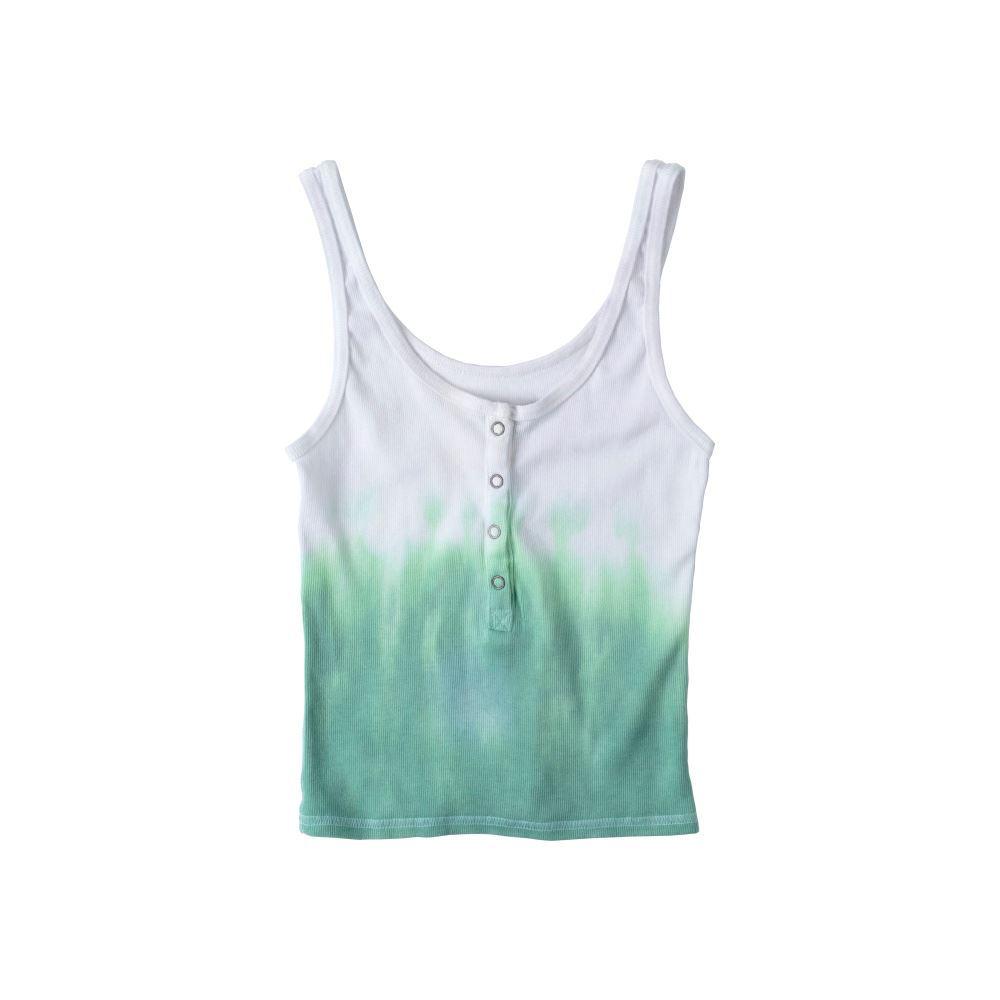 Ombre Pastel Tie-Dye Tank Top