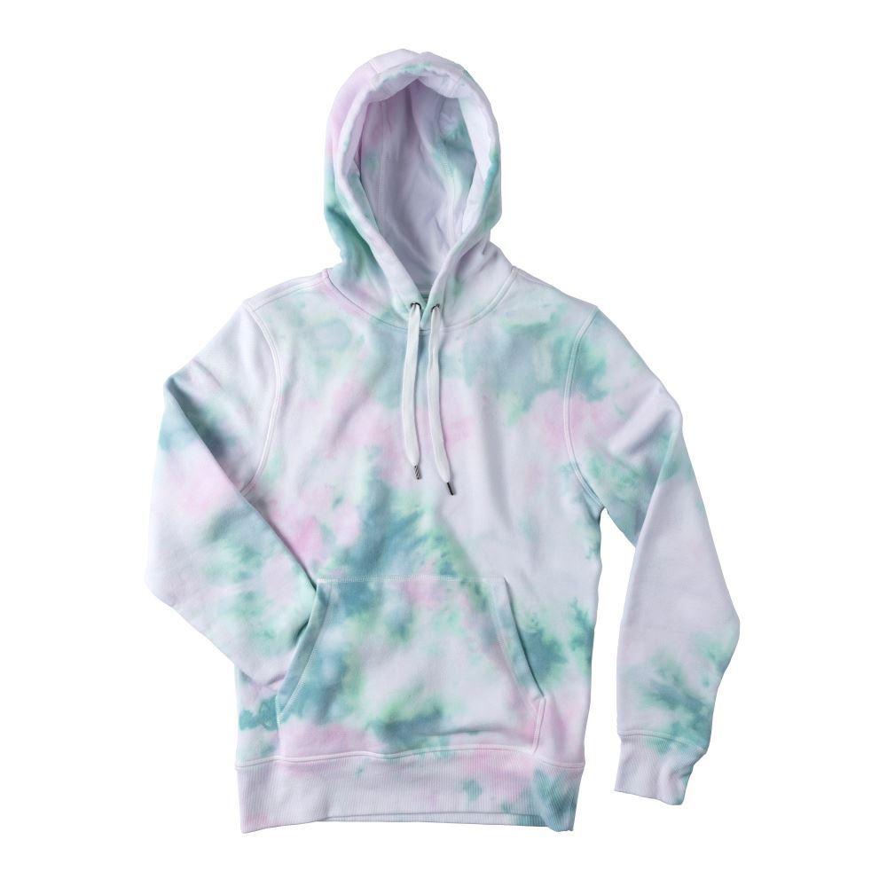Ice Dye Pastel Tie-Dye Hoodie