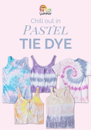 Picture of 9 More Pastel Tie-Dye Ideas