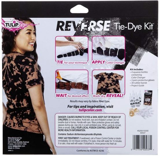 Picture of Tulip® Reverse Tie-Dye Kit