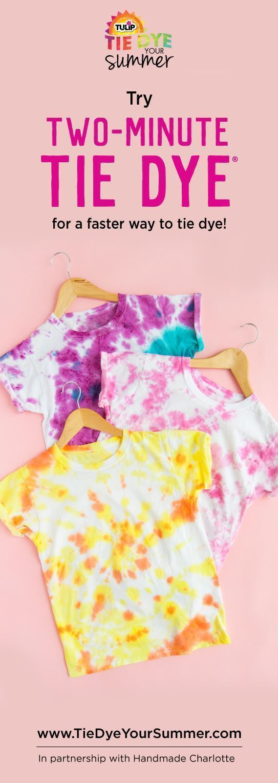 How To Two-Minute Tie-Dye