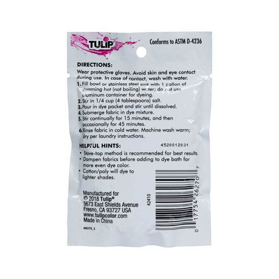 Picture of Tulip® Fabric Dye 2-N-1 Formula Red