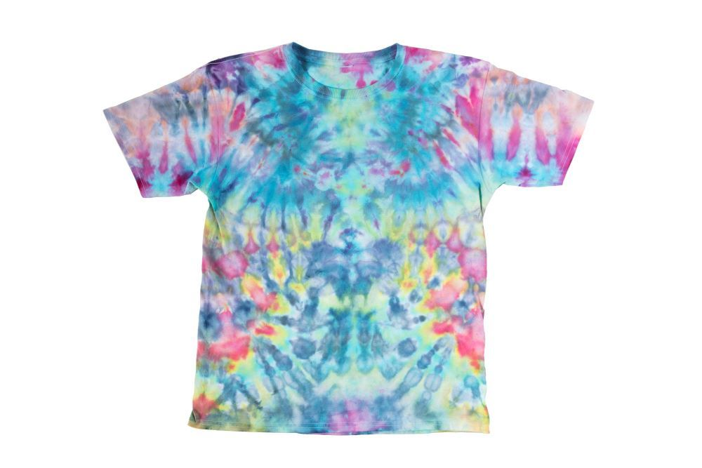 Kaleidoscope Ice Tie-Dye T-shirt