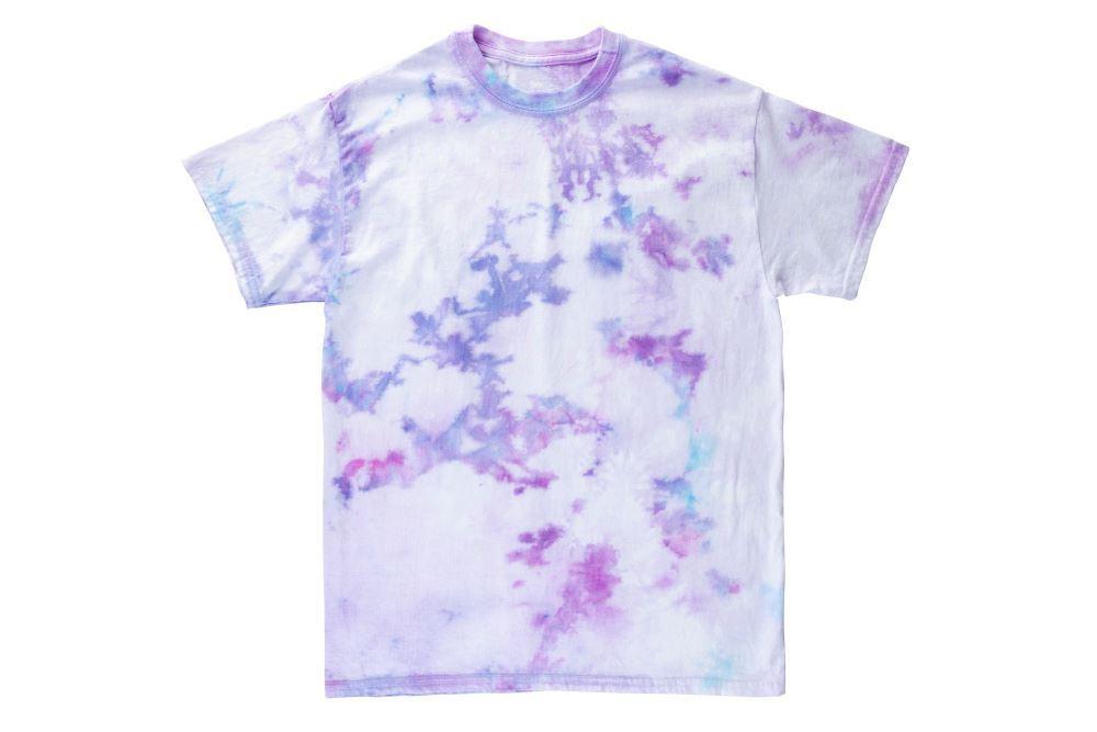 Crumple Ice Tie-Dye T-shirt