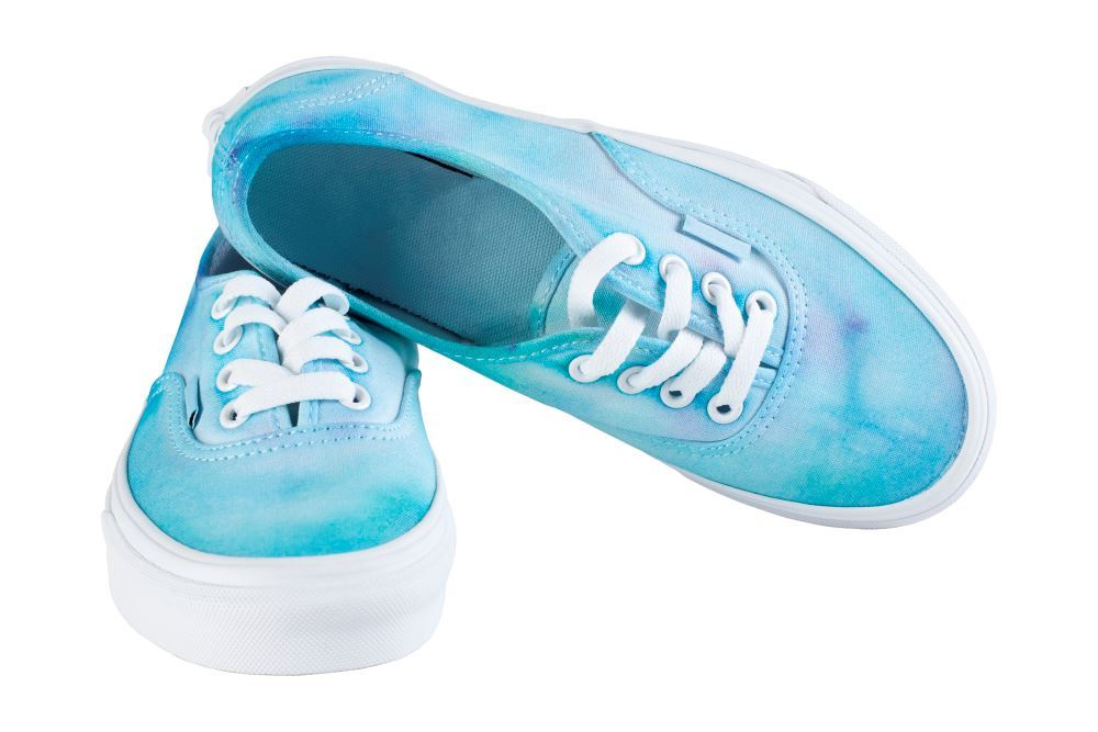 Ice Tie-Dye Shoes