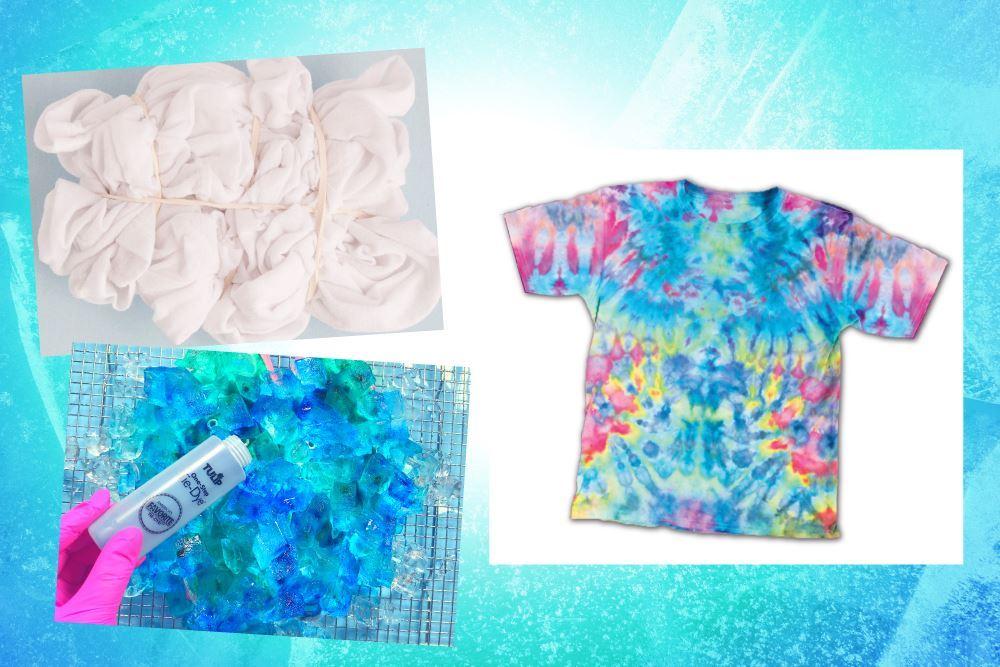 Ice Tie-Dye Looks