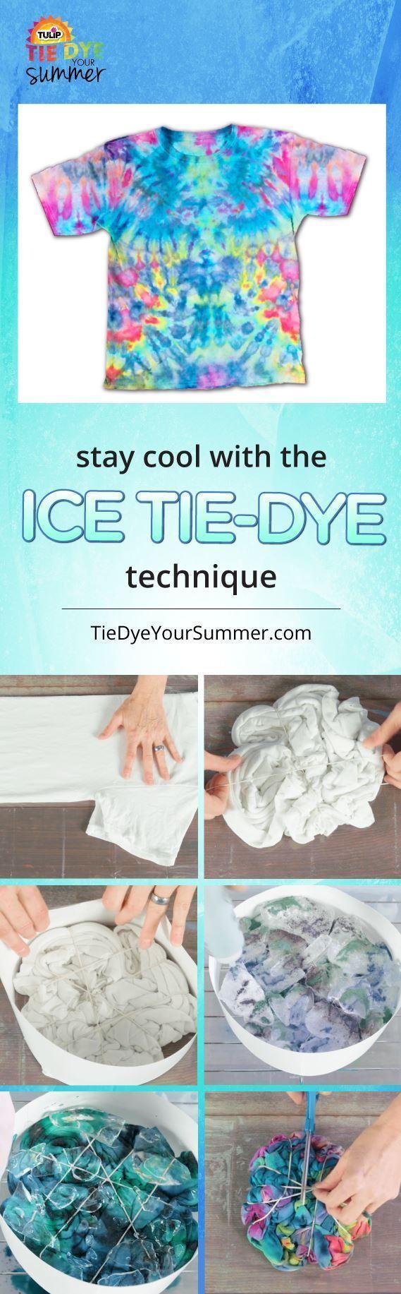 Tulip Tie Dye Ice Tie-Dye Looks
