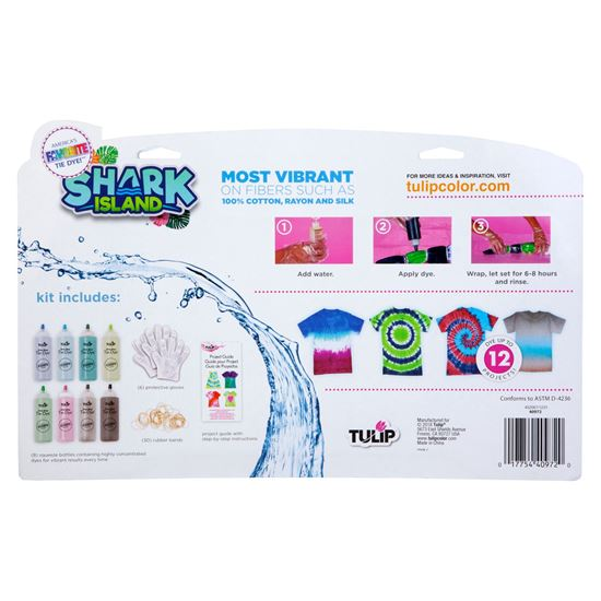 Picture of Tulip® One-Step Tie-Dye Kit Shark Island