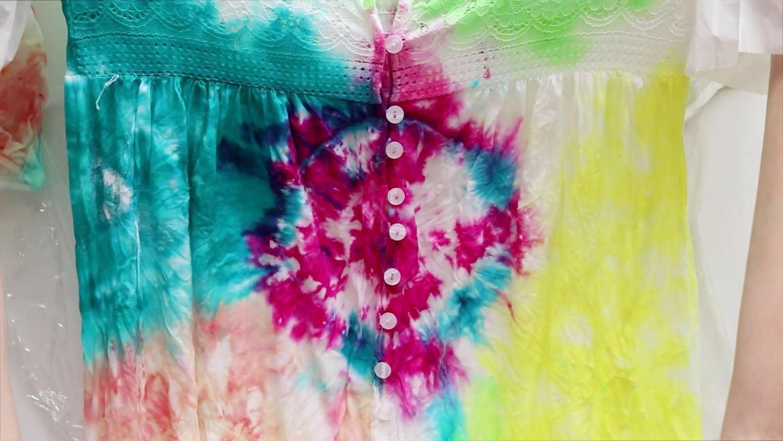 Tulip Summer Tie-Dye Kimono