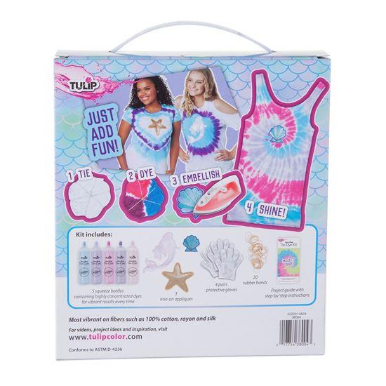 Magical Mermaid Tie-Dye Kit Backside