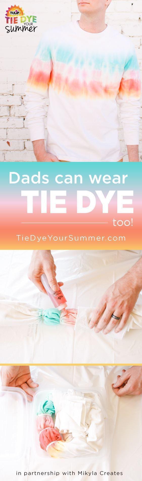 Men's Tie-Dye Shirt