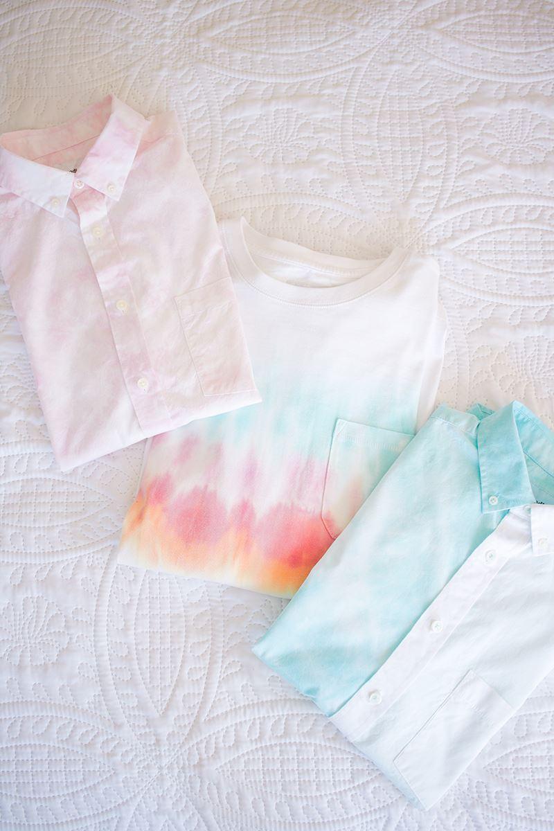 Men's DIY Tie-Dye Shirts