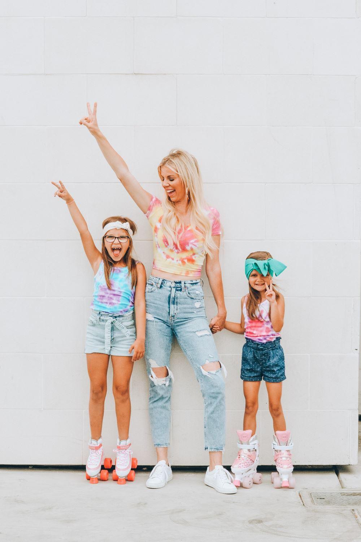Groovy Tulip Tie-Dye Family Fashion