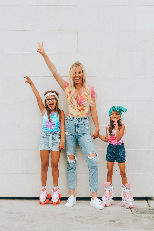 Groovy Tulip Tie-Dye Family Fashion with Annie Papi