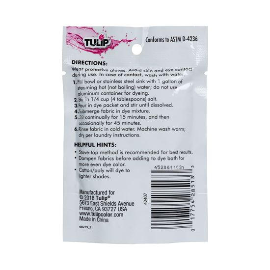 Picture of Tulip® Fabric Dye 2-N-1 Formula Green