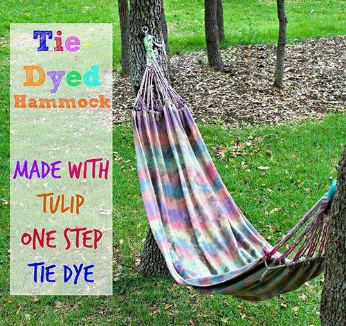 Tie-Dyed Hammock