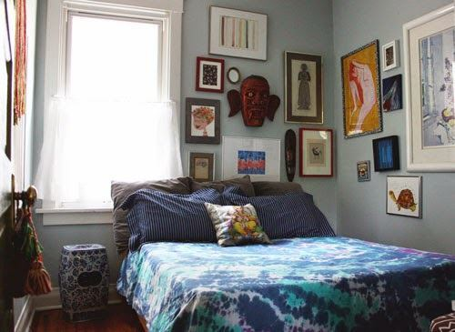Tie-Dyed Bedspread