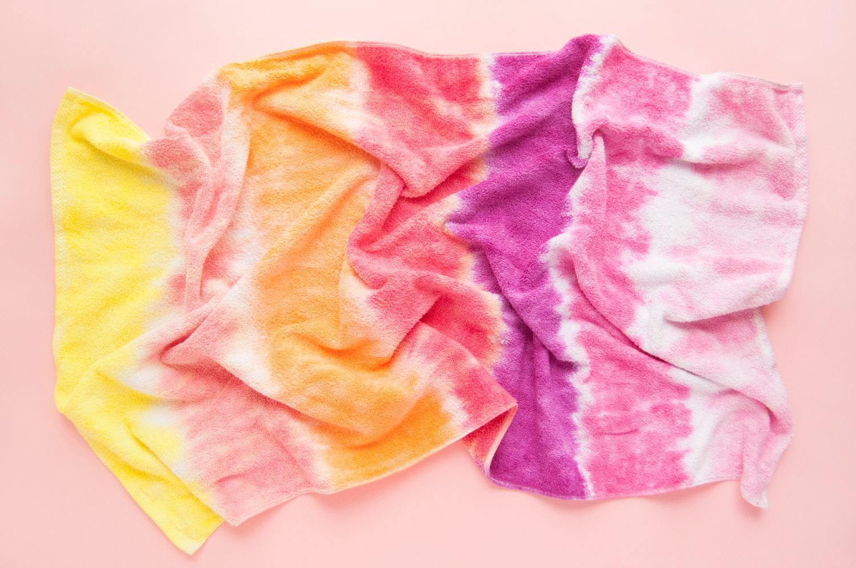 Tie Dye Towel