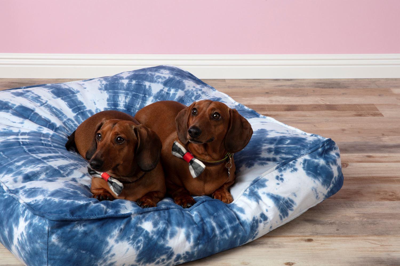 Tie-Dye Pet Bed