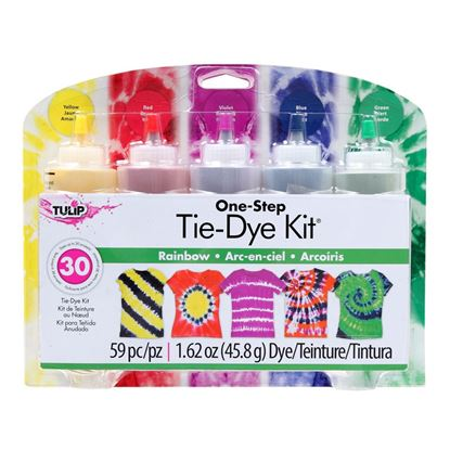 Rainbow 5-Color Tie-Dye Kit