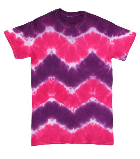 Carousel Zigzag Tie Dye Shirt