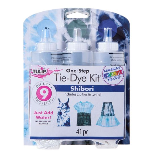 Shibori 3 Color Tie Dye Kit