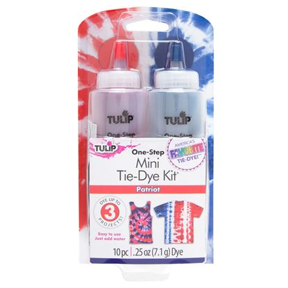 Picture of Tulip® One-Step Tie Dye Mini Kit Patriot