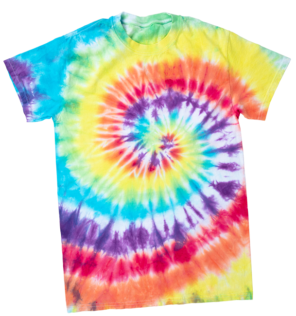 Picture of Spiral Tie-Dye Technique