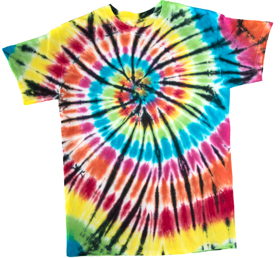 Picture of Spider Tie-Dye Technique