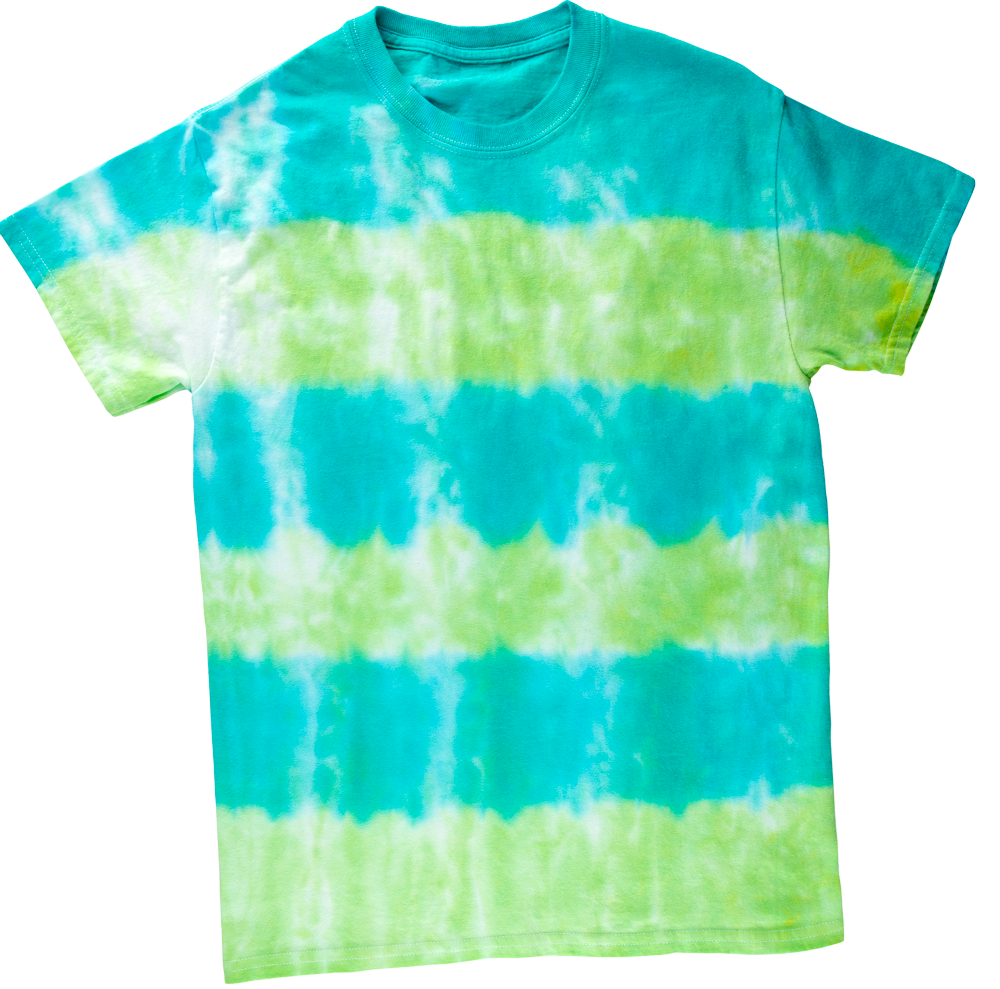 Picture of Stripes Tie-Dye Technique